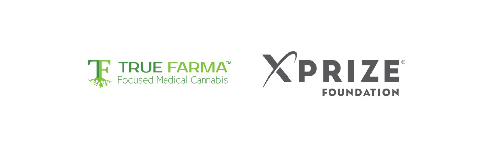 Client logos: True Farma: Focused Medical Cannabis, XPRIZE Foundation