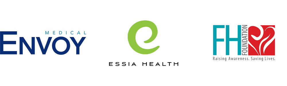 Client logos: Envoy Medical, Essia Health, FH Foundation: Raising Awareness, Saving Lives