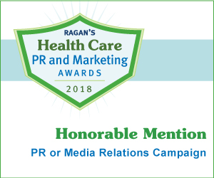 Ragan's Health Care PR and Marketing Awards 2018, Honorable Mention, PR or Media Relations Campaign - logo